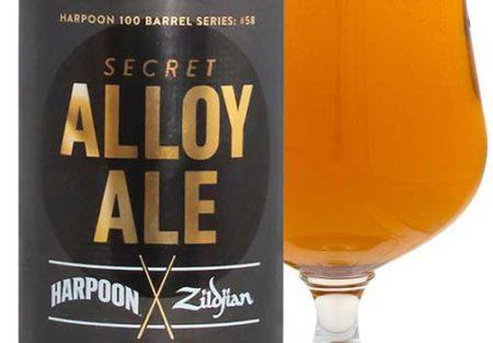 Piwo z logo Zildjian
