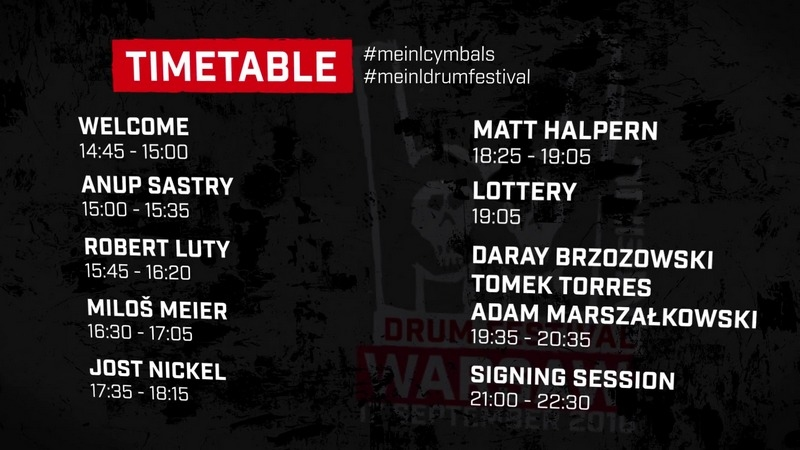 MDF2016 timetable