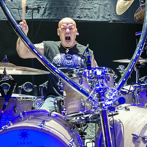 Russell Gilbrook & Uriah Heep w Polsce