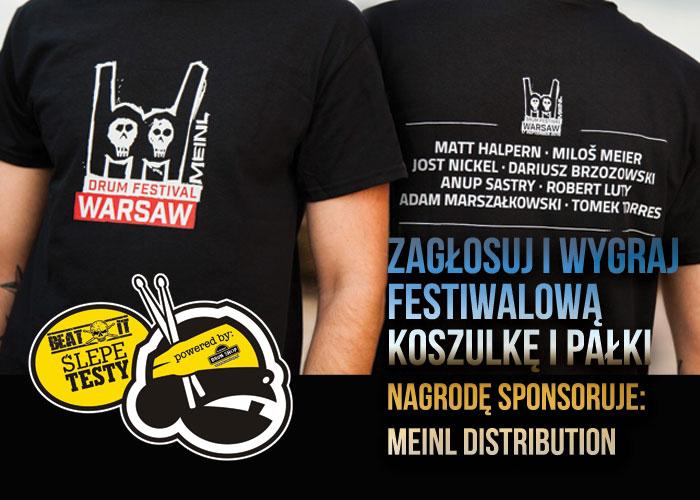 T-shirt Meinl Drum Festival 2016