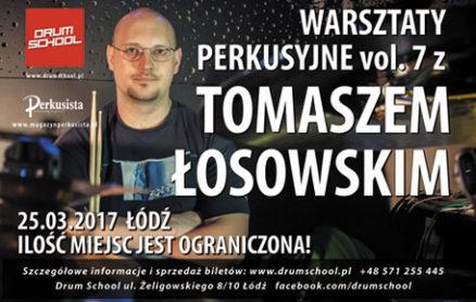 Tomasz Łosowski - warsztaty w drumschool.pl