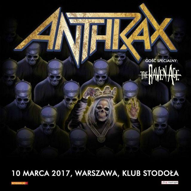 Już wkrótce: Anthrax w Warszawie