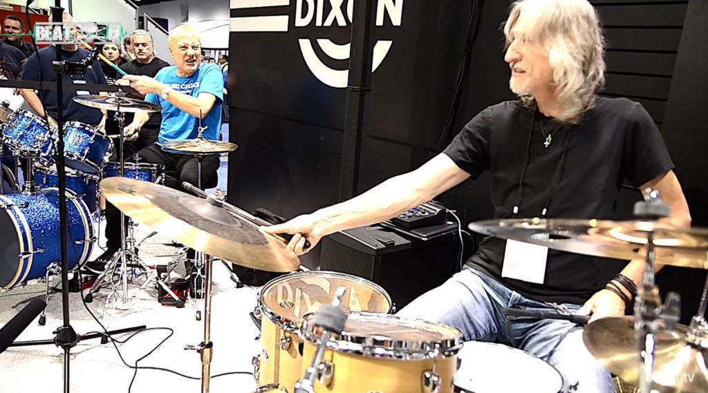 Stoisko Dixon Drums, NAMM 2017