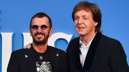 Ringo Starr i Paul McCartney razem w studio