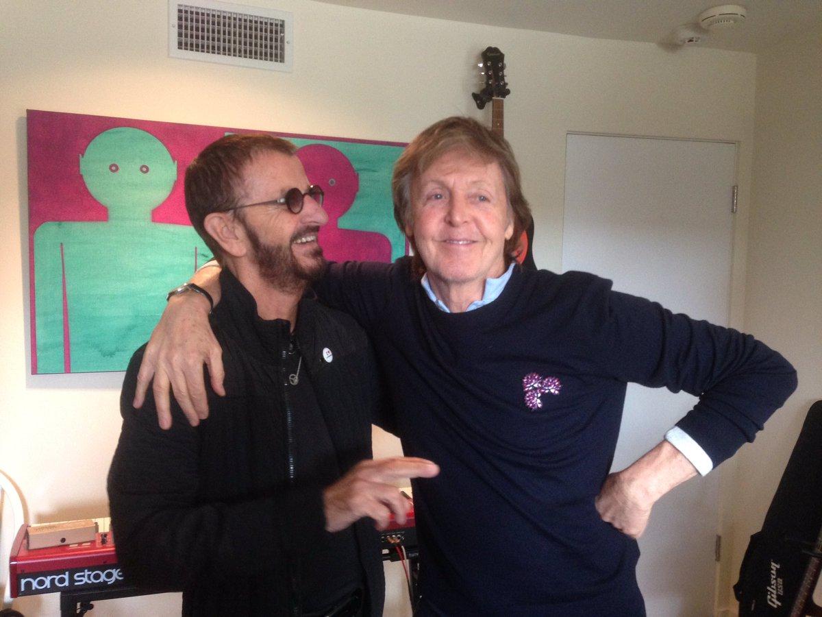 Sekcja rytmiczna The Beatles znów razem