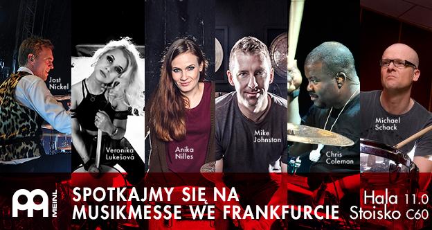 Artyści Meinl podczas Musikmesse 2017