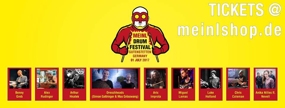 Meinl Drum Festival 2017 Artyści
