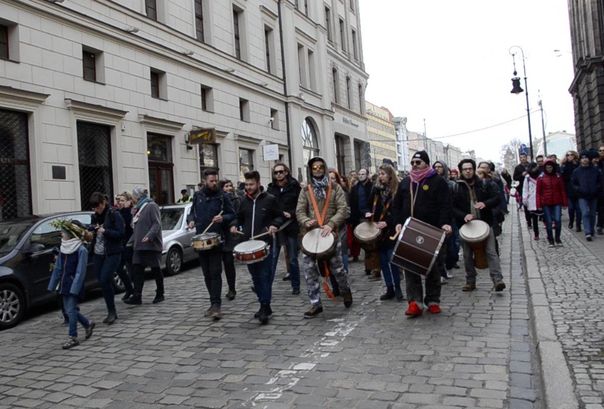 Pogrzeb zimy w Poznaniu – relacja