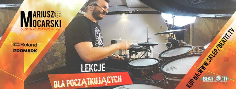 Lekcje gry na perkusji dla początkujących https://sklep.beatit.tv/