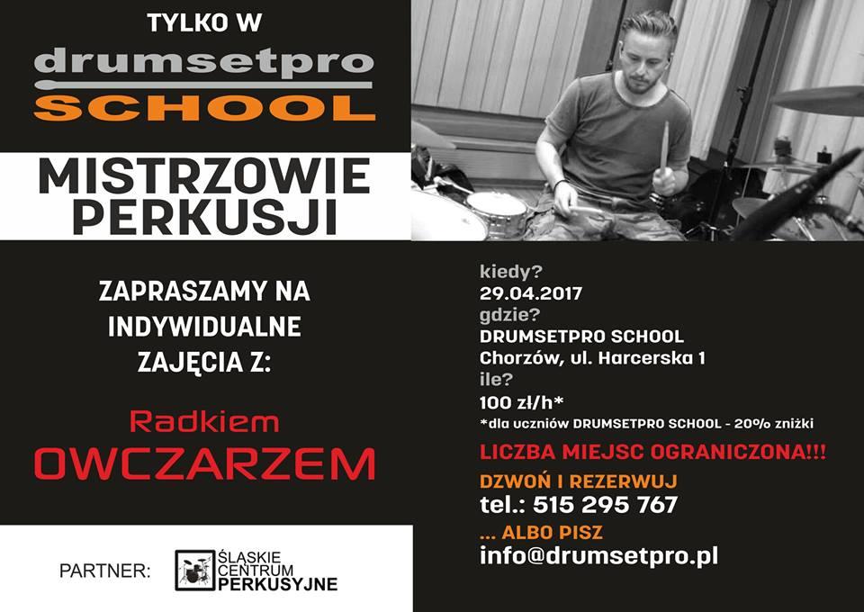 Radek Owczarz Drumsetpro School