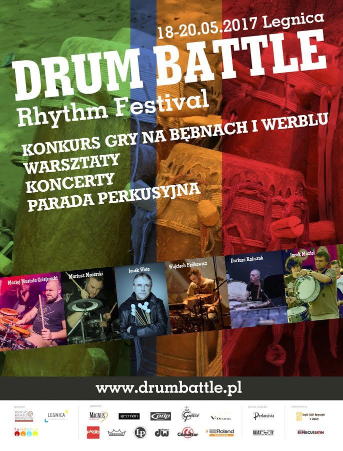 XIII Festiwal Rytmu Drum Battle Legnica 2017