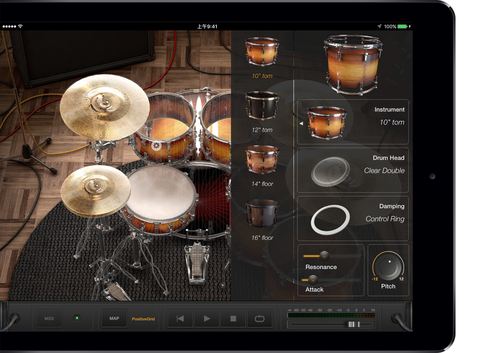 X Drummer Interface